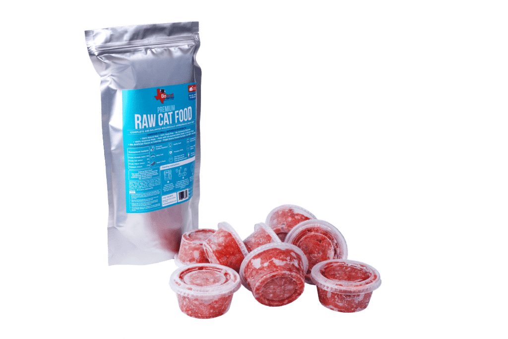 Human Grade Raw Cat Food